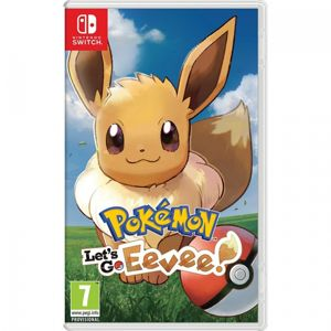 NINTENDO SWITCH POKEMON LETS GO EEVEE!