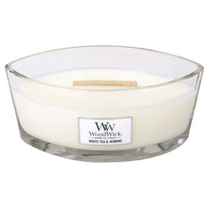 WOODWICK SVIECKA DEKORATIVNA VAZA WHITE TEA AND JASMINE 453,6G, 76062EU