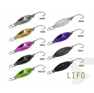 Plandavka Delphin LIFO 2.5g NIGHT Hook #8