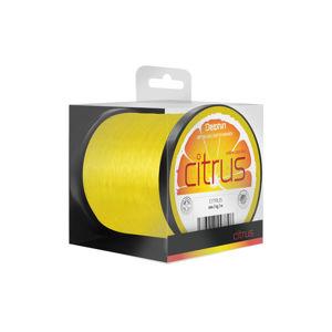 Delphin CITRUS / žltý 0,30mm 15lbs 1200m