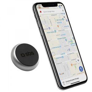 SBS - Držiak do auta TINY ROUND, magnetický, univerzálny pre smartfóny, čierna