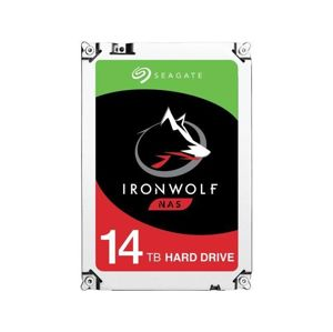 "Seagate 14TB IronWolf 3,5""/SATA/7200/256MB"
