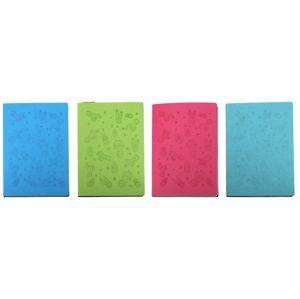 Linajkový notes 100str. 15x21cm - tmavo zelená