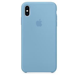 iPhone XS Max Silicone Case - Cornflower