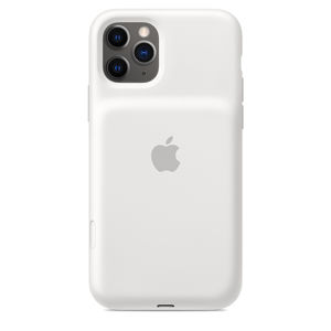 iPhone 11 Pro Sm. Bat. Case - WL Charging - White