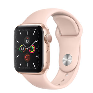 Watch S5, 40mm, Gold/ Pink Sand Sport Band