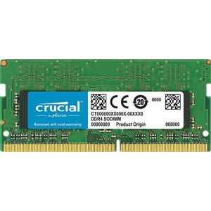 CRUCIAL 8GB/DDR4 SO-DIMM/2666MHz/CL19/1.2V/Single