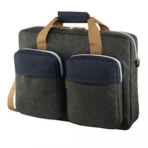 """Hama taška na notebook s vreckami Florenz, 44 cm (17,3""""), šedomodrá"""