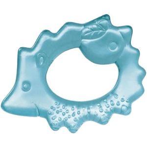 Hryzačka chladiaca ježko - modrá