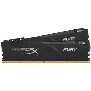 KINGSTON HyperX Fury Black 2x4GB DDR4 2666MHz