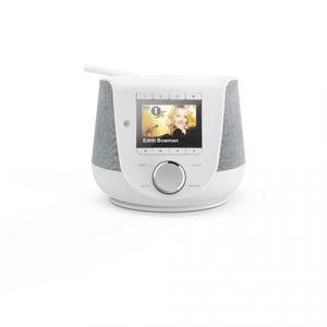 Hama digitálne a internetové rádio DIR3200SBT, FM/DAB/DAB+/, Bluetooth, biele