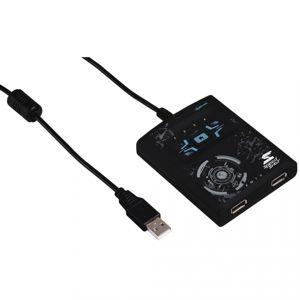 """Hama konvertor pre myš/klávesnicu """"Speedshot Ultimat"""" pre PS4/PS3/Xbox One/Xbox360, šedý"""