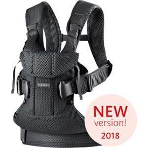 BABYBJÖRN Nosítko One 2018 - Black mesh