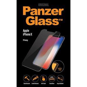 PanzerGlass - Tvrdené sklo Privacy Standard Fit pre iPhone XS/X, číra