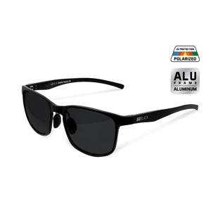 Polarizačné okuliare Delphin SG BLACK čierne sklá