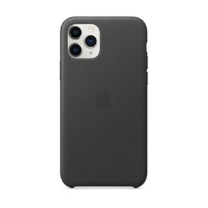 APPLE IPHONE 11 PRO LEATHER CASE - BLACK, MWYE2ZM/A