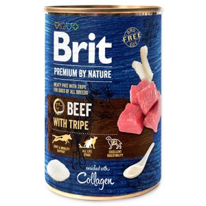 BRIT PREMIUM BY NATURE BEEF WITH TRIPES 400 G (294-100319)