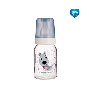 CANPOL BABIES DOJCENSKA FLASA PLAST CUTE ANIMALS 120ML 3M+