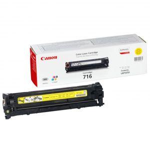 Canon originál toner CRG716, yellow, 1500str., 1977B002, Canon LBP-5050, 5050n, MF-8050, O