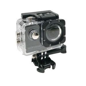 Odolná digitální kamera EasyPix GoXtreme Enduro Black, 4K Ultra HD, vodotěsná
