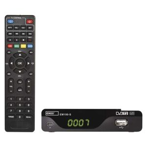 EMOS J6014 SET-TOP BOX EM190-S HD HEVC H265 (DVB-T2)