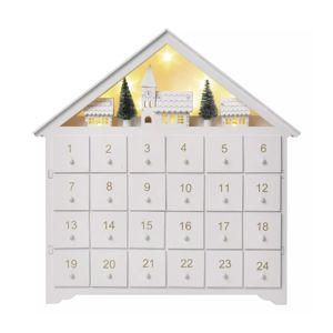 EMOS ZY2316 8LED ADVENT HOUSE 2AA T WW