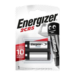 ENERGIZER LITHIUM PHOTO, 2CR5, BLISTER