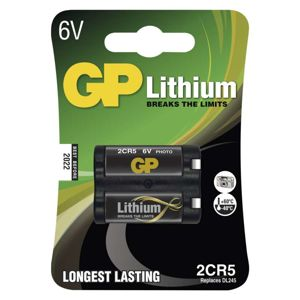 GP 2CR5 6V 1300MAH B, BLISTER, 1505