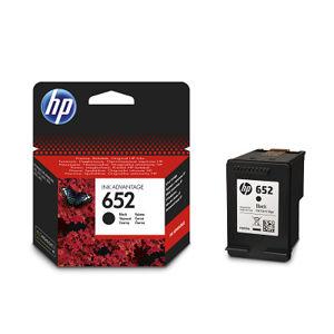 HP 652 ORIGINAL ATRAMENT F6V25AE, BLACK, 360 STRAN