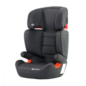 KINDERKRAFT AUTOSEDACKA JUNIOR FIX ISOFIX BLACK 15-36KG 2019