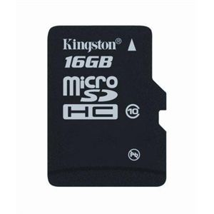 KINGSTON MICRO SDHC 16GB CLASS 4 SDC4/16GBSP BEZ ADAPTERA