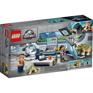 LEGO JURASSIC WORLD LABORATORIUM DR. WU: UTEK DINOSAURICH MLADAT /75939/