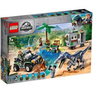 LEGO JURASSIC WORLD STRETNUTIE S BARYONYXOM: HON ZA POKLADOM /75935/