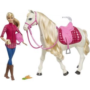 MATTEL BARBIE DREAM HORSE KON SNOV /25FRV36/