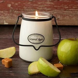 MILKHOUSE CANDLE CARAMEL APPLE VONNA SVIECKA BUTTER JAR 624G, 31906