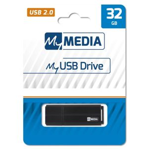 32GB USB Flash 2.0 MyUSB Drive černý, My Media