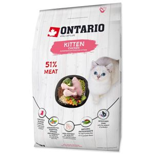 ONTARIO KITTEN CHICKEN (6,5KG)
