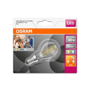 OSRAM LED STAR+ CL P ACT&RELFIL 40 NON-DIM 4W/827 E14