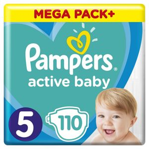 PAMPERS ACTIVE BABY MP+ S5 110KS
