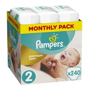 PAMPERS PLIENKY PREMIUM MONTHLY BOX S2 240