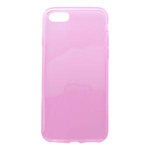 Gumené puzdro iPhone 7, ružové, anti-moisture