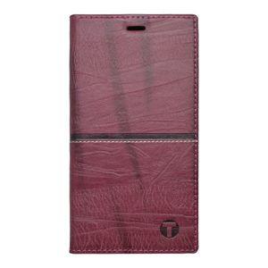 Knižkové puzdro Luxury iPhone X bordové
