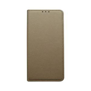 Knižkové puzdro Samsung Galaxy A20e zlaté, vzorované