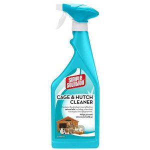 SIMPLE SOLUTION HUTCH & CAGE CLEANER - ENZYMATICKY CISTIC PSICH BUD A KLIETOK, 500 ML
