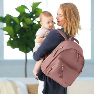 SKIP HOP TASKA PREBALOVACIA/BATOH GREENWICH SIMPLY CHIC DUSTY ROSE