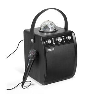TECHNAXX MUSICMAN DISCO REPRODUKTOR + MIKROFON, BT, MICROSD, USB, AUX-IN, FM, 4000MAH, CIERNY(BT-X5)