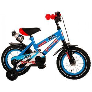 """VOLARE - Detský bicykel pre chlapcov ,,SUPER"""" - modrý, 12""""- zložený na 95 %"""