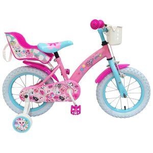 VOLARE - Detský bicykel pre dievčatá Ojo - ružový, 16