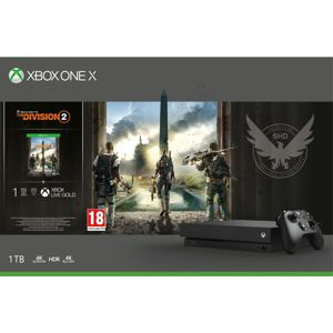 XBOX ONE X 1TB TOM CLANCY DIVISION 2